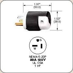 Hubbell-HBL5366C-Plug-20-amp-125V-5-20P-BlackWhitePack-of-10-0