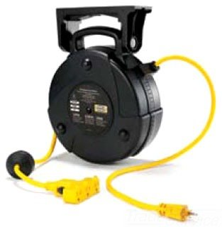 Hubbell-Wiring-Systems-HBLC40123TT-Commercial-Cord-Reel-with-Triple-Tap-Outlet-40-Cable-Length-123-SJTW-Cable-Type-1875W-15-Amp-125VAC-Black-0