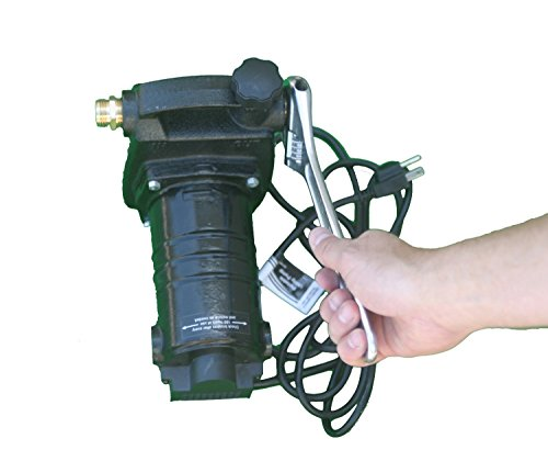 HydraPump-Pro-115-volt-12HP-1450-GPH-Portable-Transfer-Water-Pump-with-Cast-Iron-Casing-and-Brass-Connectors-for-Use-with-Standard-34-Hose-0-1