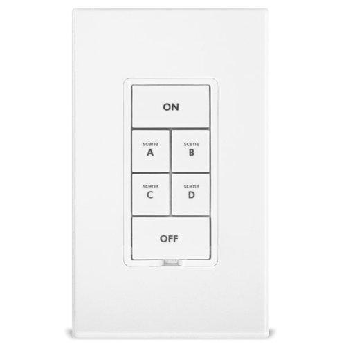 INSTEON-2487S-KeypadLinc-6Button-Scene-Control-Keypad-with-OnOff-Switch-White-0