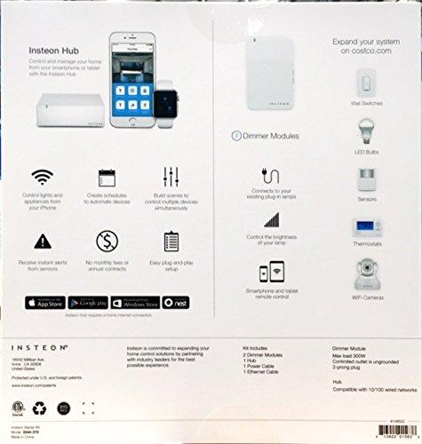 INSTEON-Home-Control-Starter-Kit-1-Hub-2-Dimmer-Modules-2244-372-0