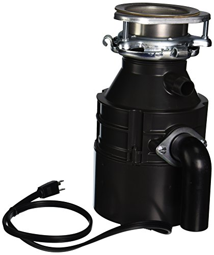 Insinkerator-BADGER1CORD-Household-Food-Waste-Disposer-with-Cord-13-Horsepower-Grey-0-0