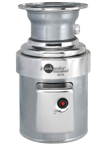 Insinkerator-SS-75-27-Standard-Capacity-Commercial-Waste-Disposer-0