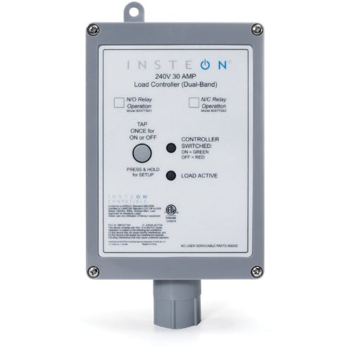 Insteon-2477SA2-INSTEON-Dual-Band-220V-240V-30-AMP-Load-Controller-Normally-Closed-Relay-0