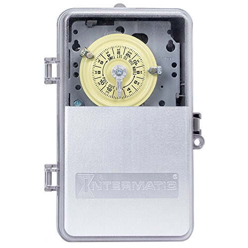 Intermatic-T101PCD82-SPST-Electromechanical-24-Hour-Timer-0