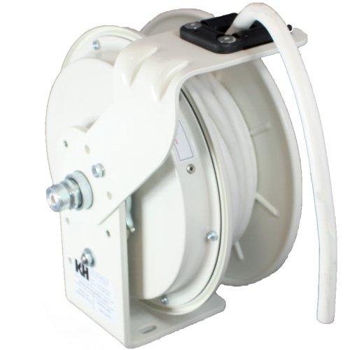 KH-Industries-RTB-Series-ReelTuff-Power-Cord-Reel-123-SJOW-White-Cable-20-Amp-25-Length-White-Powder-Coat-Finish-0