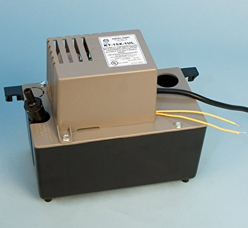 KT-15X-1ULT-Hartell-Condensate-Pump-with-Safety-switch-20-feet-of-Vinyl-Tubing-0