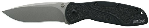 Kershaw-S30V-Blur-Knife-with-Steel-Blade-with-SpeedSafe-0