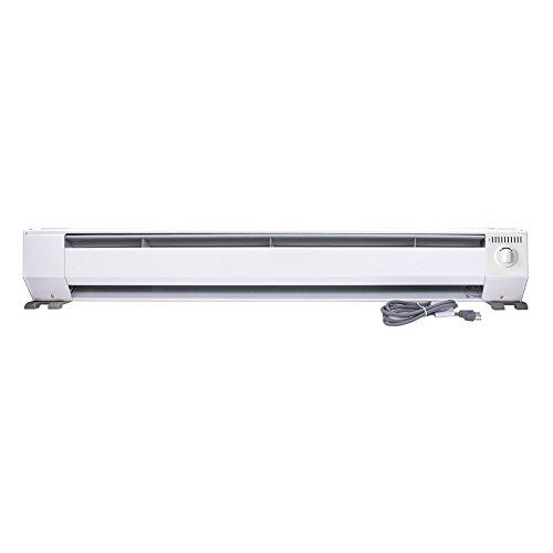 King-KP1210-1000-Watt-120-Volt-4-Foot-Portable-Baseboard-Heater-Bright-White-0
