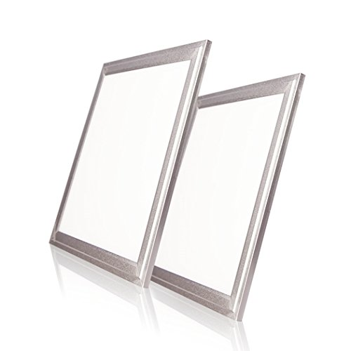LED Panel Light, No Flicker LED Recessed Ceiling Light For