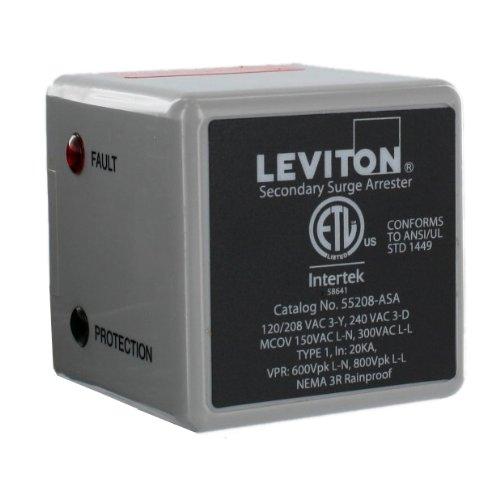 Leviton-55208-ASA-3-Phase-120208-V-WYE-or-3-Phase-240-V-Delta-Type-1-Surge-Arrester-0