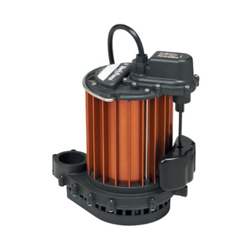 Liberty-Pumps-237-13-Horse-Power-1-12-Inch-Discharge-230-Series-Automatic-Submersible-Sump-Pump-with-VMF-Switch-0