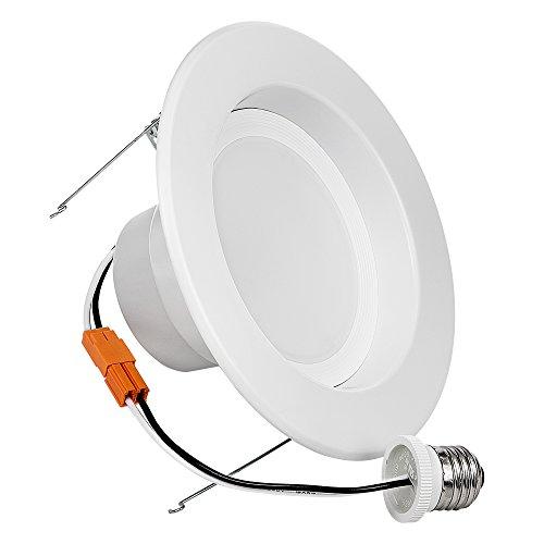 Light-Blue-18-Watt-120W-56-LED-Retrofit-Recessed-Lighting-Fixture-Cool-white-4000K-LED-Ceiling-Light-1500-Lumens-LED-Retrofit-Downlight-kit-Dimmable-UL-Listed-Enery-Star-4-PACK-0-1