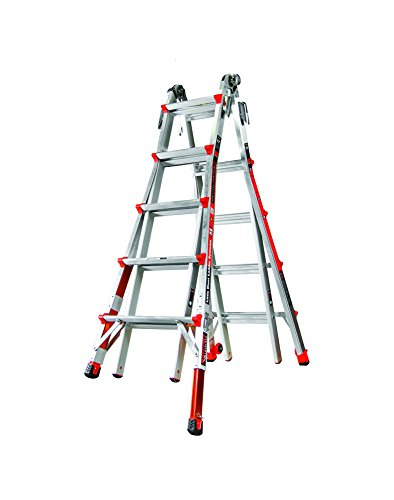 Little-Giant-Ladder-Systems-12022-801-Revolution-M22-with-Ratcheting-Levelers-0