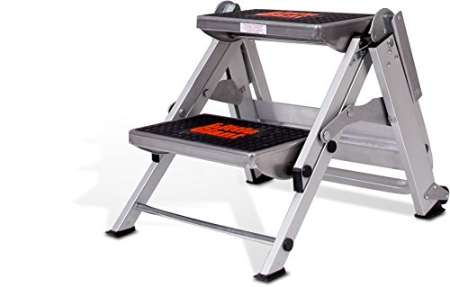 Little Giant Ladder Systems Safety Step Stepladder With