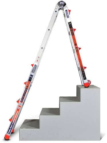 Little-Giant-RevolutionXE-300-Pound-Duty-Rating-Multi-Use-Ladder-0-0