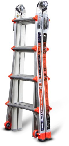 Little-Giant-RevolutionXE-300-Pound-Duty-Rating-Multi-Use-Ladder-0-1