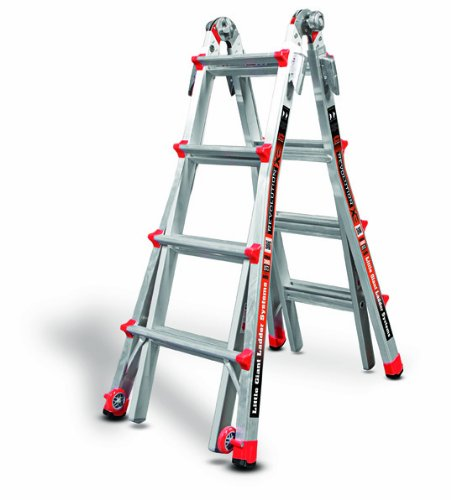 Little-Giant-RevolutionXE-300-Pound-Duty-Rating-Multi-Use-Ladder-0