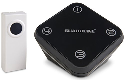 Long-Range-Wireless-Doorbell-w-Lifetime-Warranty-Professional-Door-Chime-w-Loud-Adjustable-Volume-by-Guardline-0