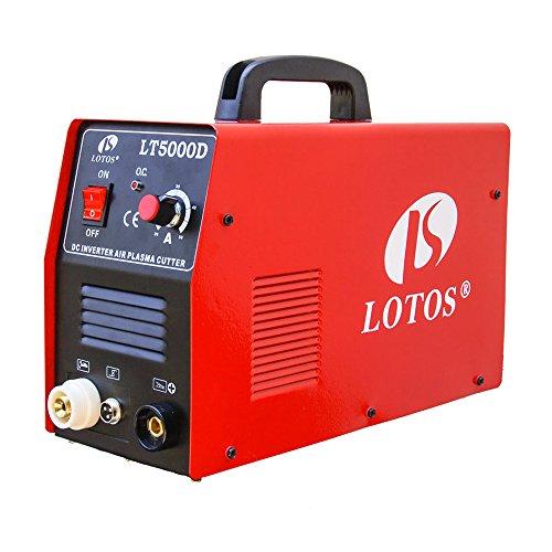 Lotos-LT5000D-Plasma-Cutter-50Amps-Dual-Voltage-Compact-Metal-Cutter-110220V-AC-12-Clean-Cut-0