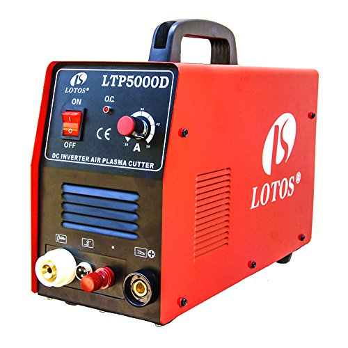 Lotos-LTP5000D-50Amp-Non-Touch-Pilot-Arc-Plasma-Cutter-Dual-Voltage-110V220V-12-Inch-Clean-Cut-0