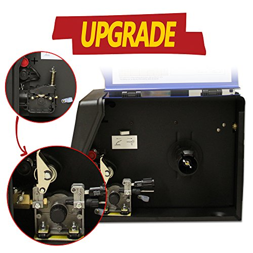 Lotos-MIG140-140-Amp-Mig-Wire-Welder-Flux-Cored-and-Aluminum-Gas-Shielded-Welding-BlueBlack-0-0