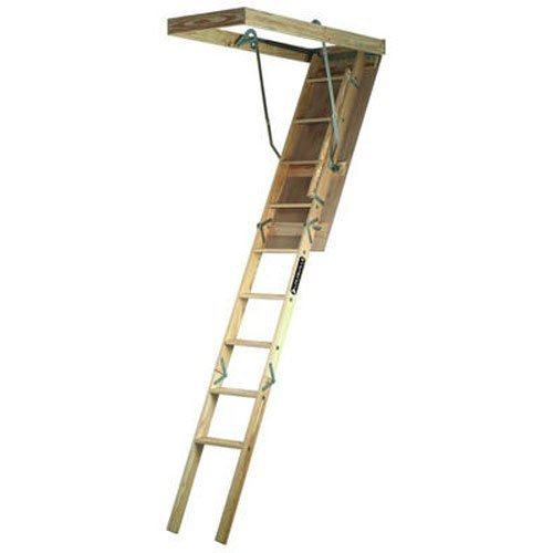 Louisville-Ladder-250-Pound-Duty-Rating-Wooden-Attic-Ladder-0