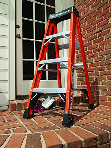 Louisville-Ladder-FS1412HD-375-Pound-Duty-Rating-Fiberglass-Step-Ladder-12-Foot-0-0