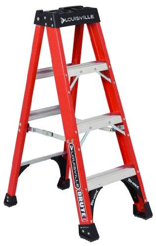 Louisville-Ladder-FS1412HD-375-Pound-Duty-Rating-Fiberglass-Step-Ladder-12-Foot-0