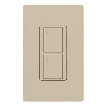 Lutron-PD-5WS-DV-LA-Light-Switch-Caseta-Wireless-5A-Lighting-3A-Fan-RF-OnOff-Light-Almond-0