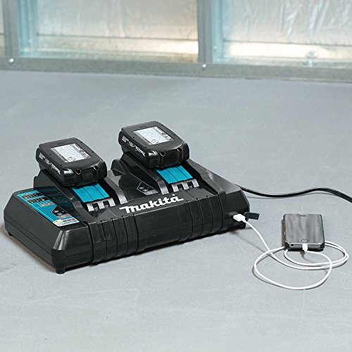 Makita-DC18RD-18V-Lithium-Ion-Dual-Port-Rapid-Optimum-Charger-0-0