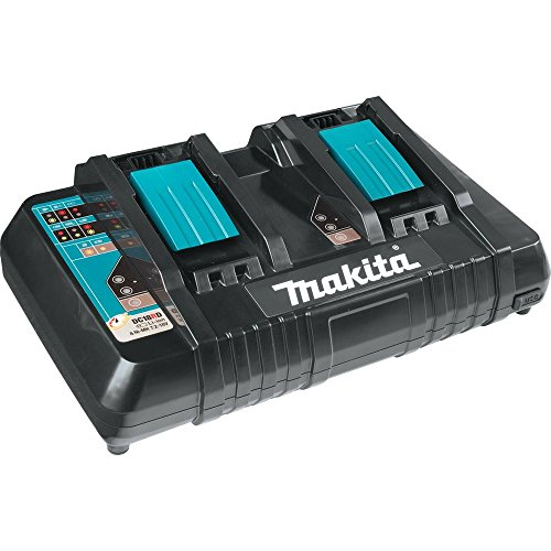 Makita-DC18RD-18V-Lithium-Ion-Dual-Port-Rapid-Optimum-Charger-0