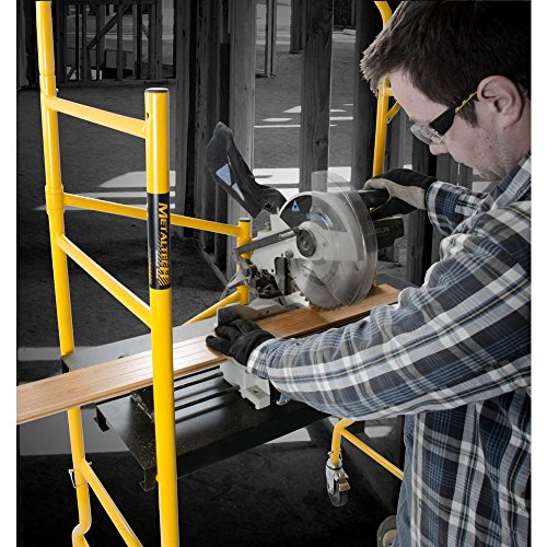 MetalTech-5-ft-Folding-900-lb-Capacity-Scaffold-with-Safety-Hand-Rail-and-Tool-Shelf-0-1