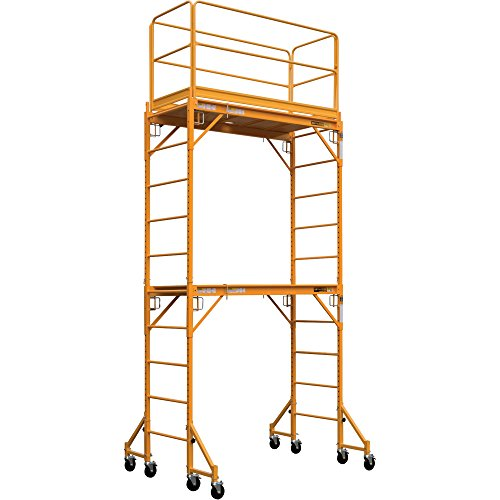 Metaltech-Multipurpose-Maxi-Square-Baker-Style-Scaffold-Tower-Package-12ft-1000-Lb-Capacity-Model-I-TCISC-0