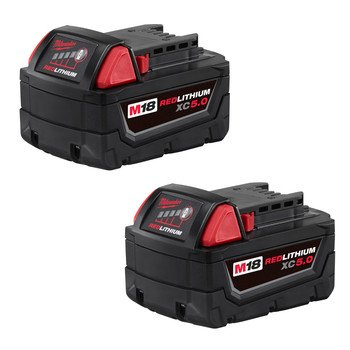 Milwaukee-48-11-1852-M18-REDLITHIUM-XC-50-Ah-Extended-Capacity-Battery-2-pack-0