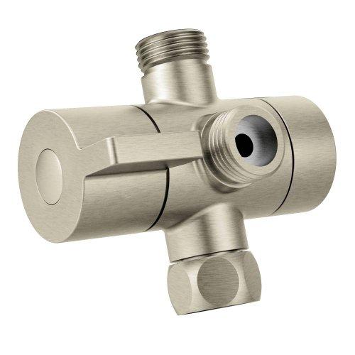 Moen-CL703BN-Shower-Arm-Diverter-Brushed-Nickel-0