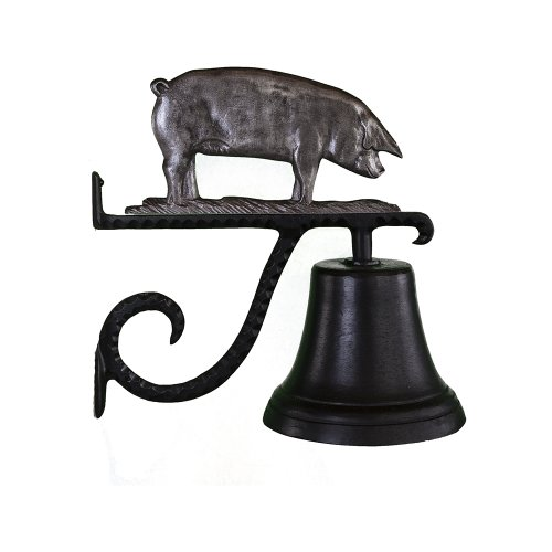 Montague-Metal-Products-Cast-Bell-with-Swedish-Iron-Pig-0