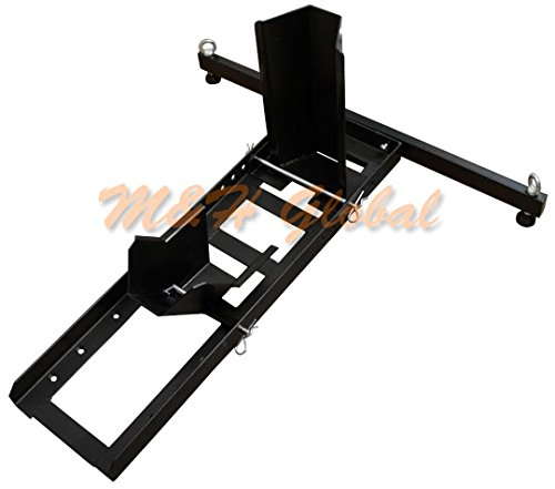 Motorcycle-Wheel-Chock-Stand-Mount-Truck-Trailer-Floor-Lift-Stand-1800-lb-Cap-0-0