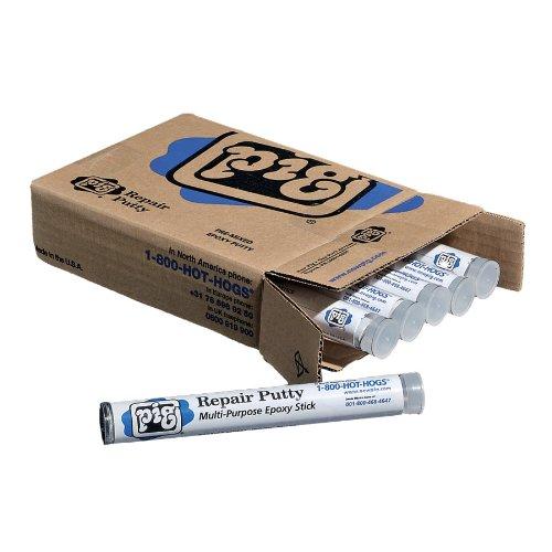New-Pig-PTY202-Plastic-Multi-Purpose-Repair-Putty-7-Length-Gray-Box-of-6-0