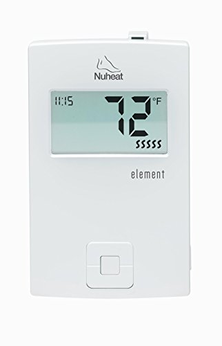 Nuheat-Element-Non-Programmable-120240V-Radiant-Floor-Heating-Thermostat-GFCI-and-LCD-Display-0