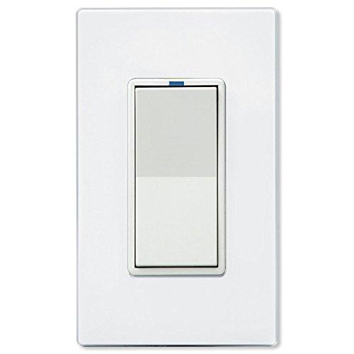 PCS-PulseWorx-UPB-Wall-Switch-Relay-10A-White-WS1R-10-W-0-0