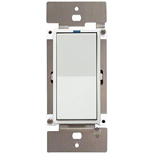 PCS-PulseWorx-UPB-Wall-Switch-Relay-10A-White-WS1R-10-W-0