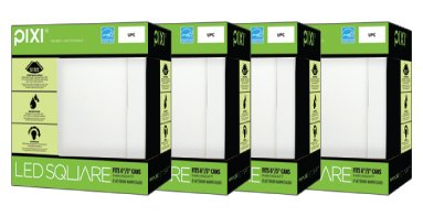 PIXI-4-pack-Square-LED-8×8-Recessed-Can-Retrofit-fits-5-6-cans-0