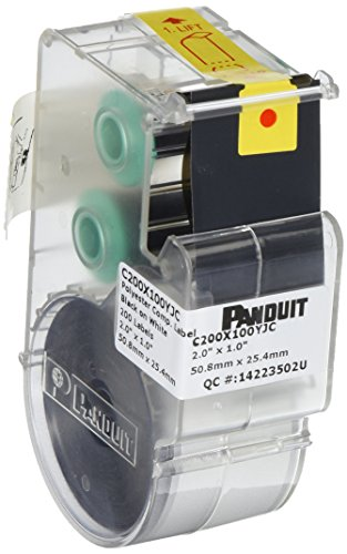 Panduit-C200X100YJC-Polyester-Thermal-Transfer-Component-Label-White-200-Pack-0