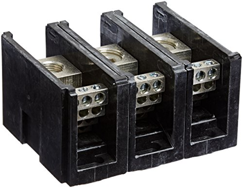 Power-Distribution-and-Terminal-Block-Connector-Blok-Single-Primary-Multiple-Secondary-500MCM-4-AWG-Line-and-4-14-AWG-Load-Side-Configuration-171-Width-262-Height-400-Length-0