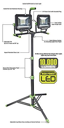 PowerSmith-PWL21100TS-Two-Head-10000-Lumen-LED-Work-Light-with-Tripod-0-0