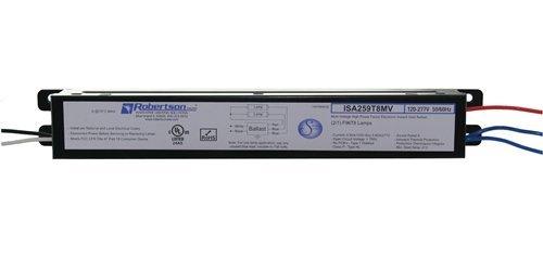 ROBERTSON-1P20124-OEM-Pak-of-10-Fluorescent-eBallast-for-12-F96T8-Linear-Lamps-Instant-Start-120-277Vac-50-60Hz-Normal-Ballast-Factor-HPF-Model-ISA259T8MV-A-0-0