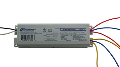 ROBERTSON-2P20132-Quik-Pak-of-10-Fluorescent-eBallasts-for-2-F40T12-Linear-Lamps-Preheat-Rapid-Start-120Vac-50-60Hz-Normal-Ballast-Factor-NPF-Model-RSW234T12120-A-Crosses-to-2P20010-Model-RSW240T12120-0-1