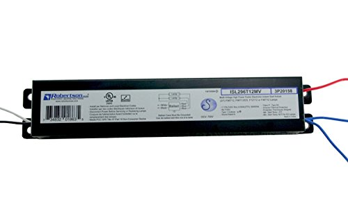 ROBERTSON-2P20158-Quik-Pak-of-10-Fluorescent-eBallasts-for-2-F96T12-Linear-Lamps-Instant-Start-120-277Vac-50-60Hz-Normal-Ballast-Factor-HPF-Model-ISL296T12MV-Successor-to-Robertson-000760-Model-ISD296-0-1