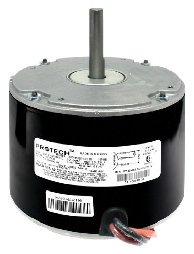 Rheem-Condenser-Fan-Motor-15-HP-208-230V-1-Phase-50-60Hz-1075-RPM-1-Speed-51-100999-04-0